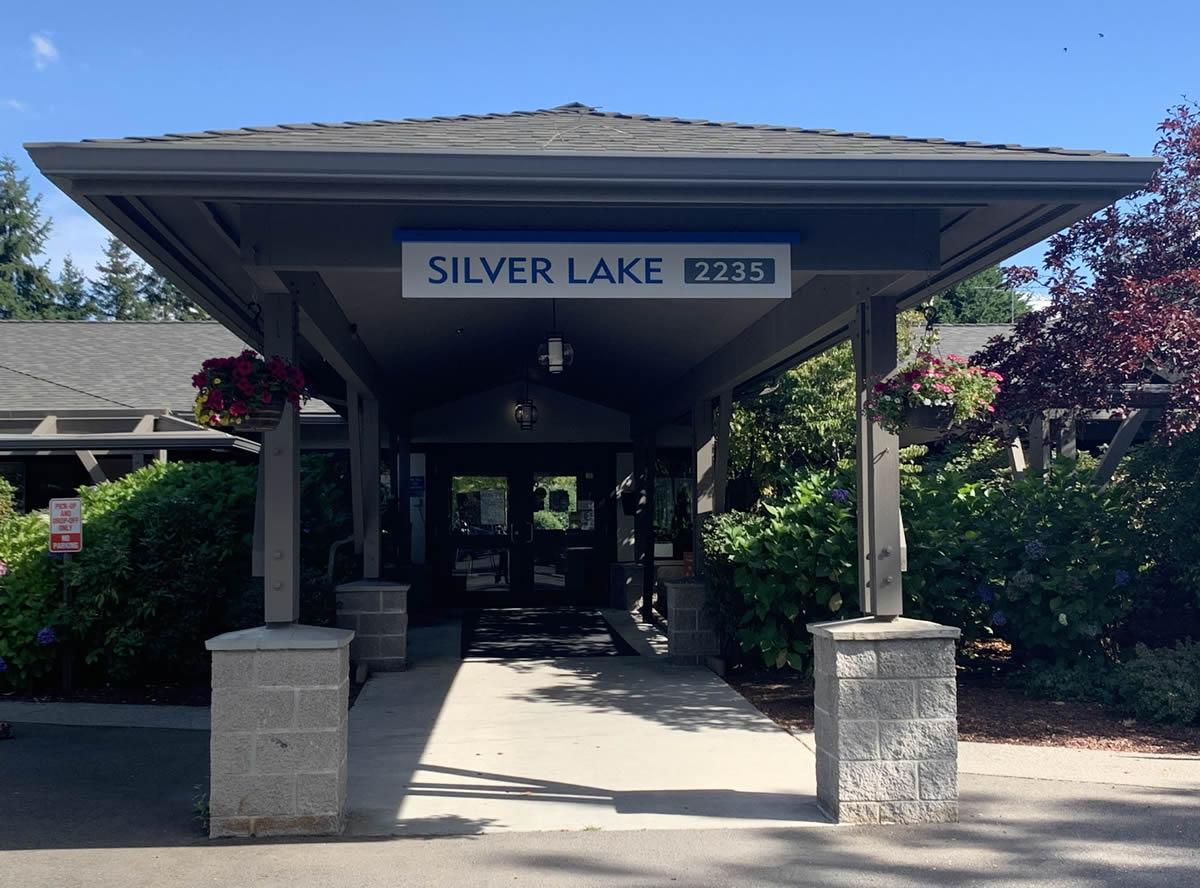 Silver Lake Front Door