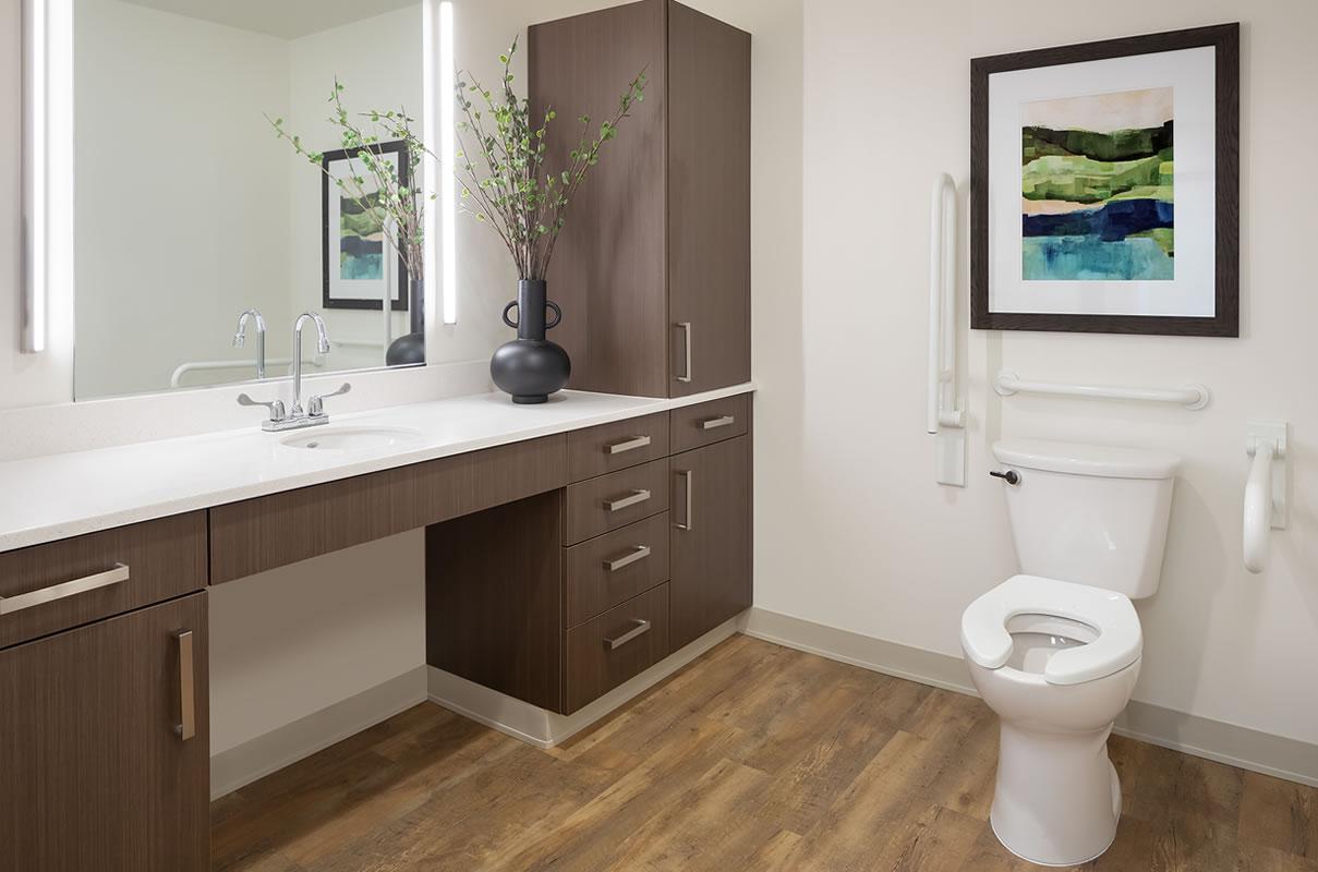 Bethany Resident Bathroom